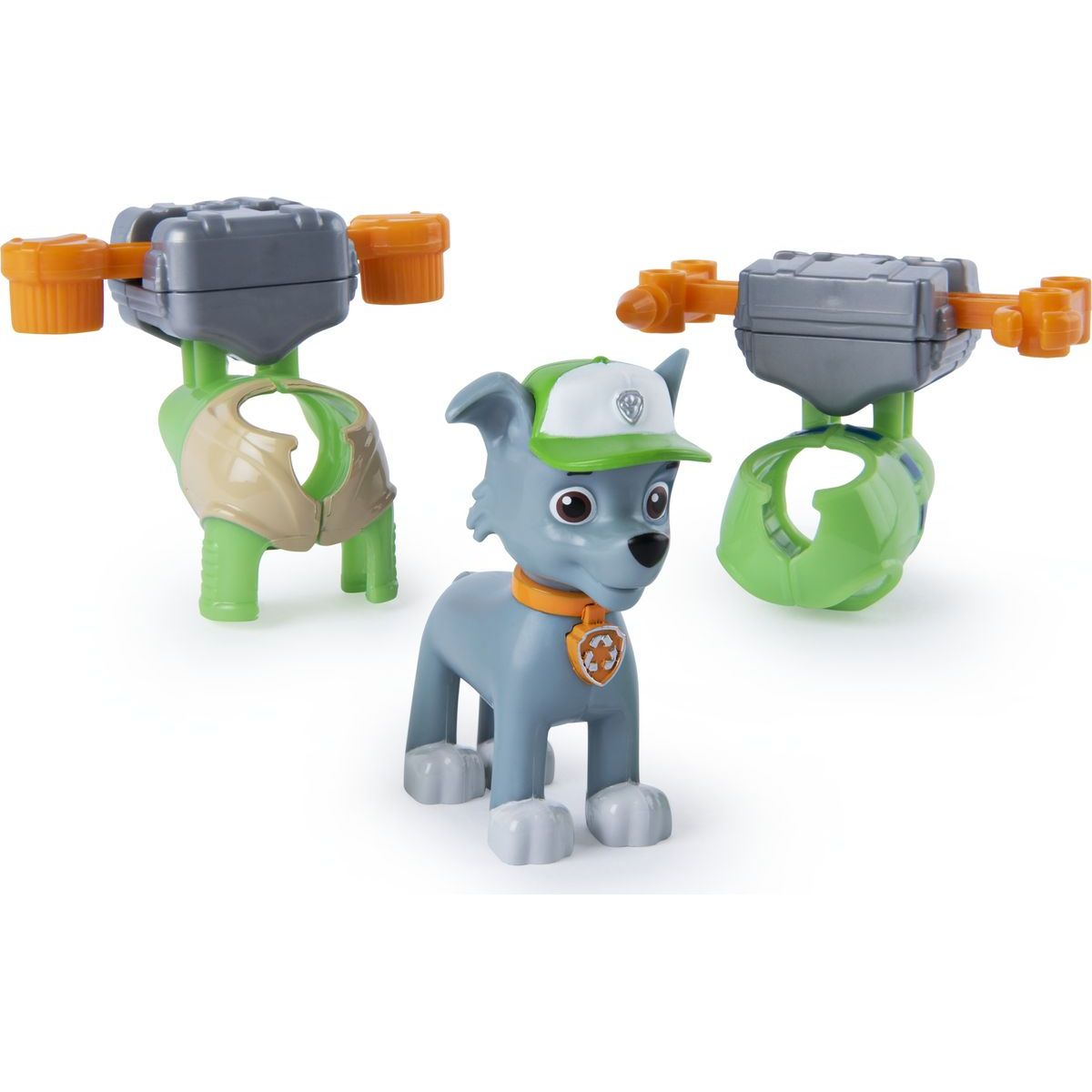 Spin Master Paw Patrol Mini Air Rescue Rocky Pull Back Pup
