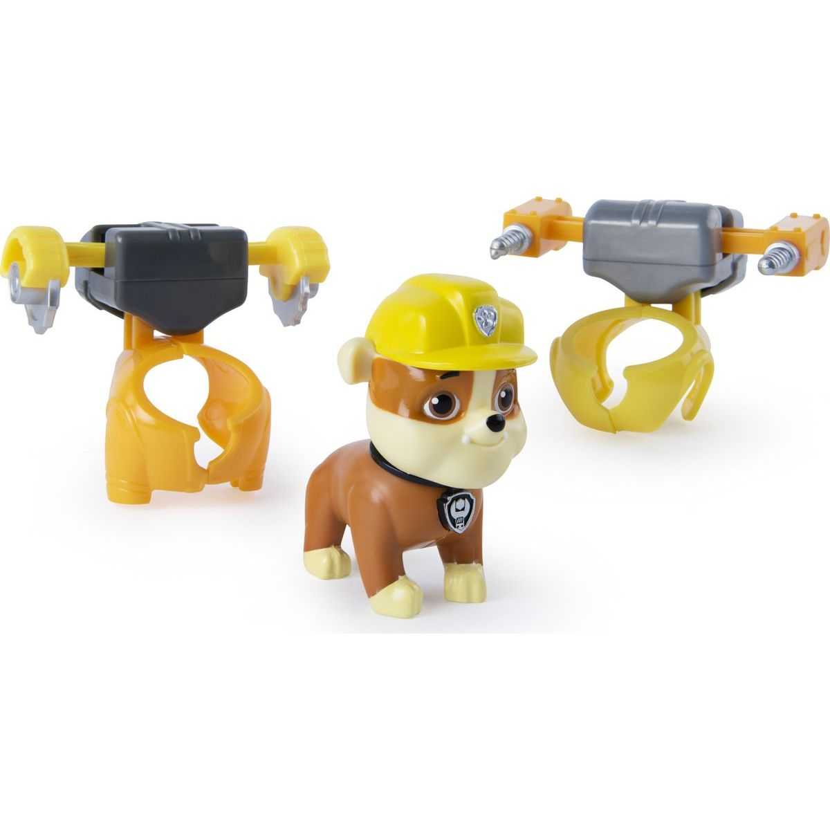 Spin Master Paw Patrol Mini Air Rescue Rubble Pull Back Pup