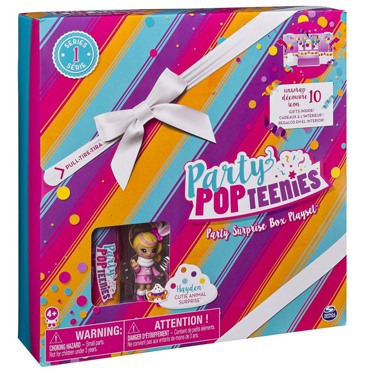 Spin Master Party Popteenies Hrací sada pro párty panenky Blondýnka Hayden