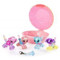 Spin Master Twisty Petz zvířátka a náramky miminka čtyřbalení růžový drahokam