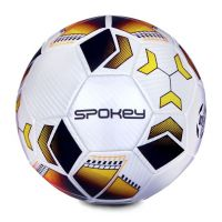 Spokey Agilit fotbalový míč velikost 5 černooranžový