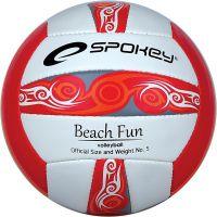 Spokey BeachFun Volejbalový míč červený 834046