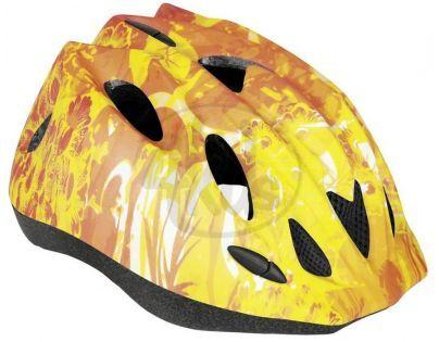 Spokey Cyklistická přilba Junior BILE