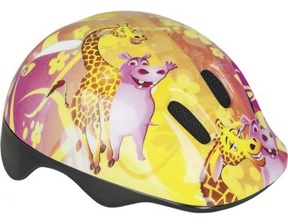 Spokey Dětská cyklistická přilba - Giraffe