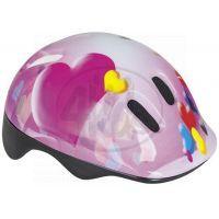 Spokey Dětská cyklistická přilba Heart