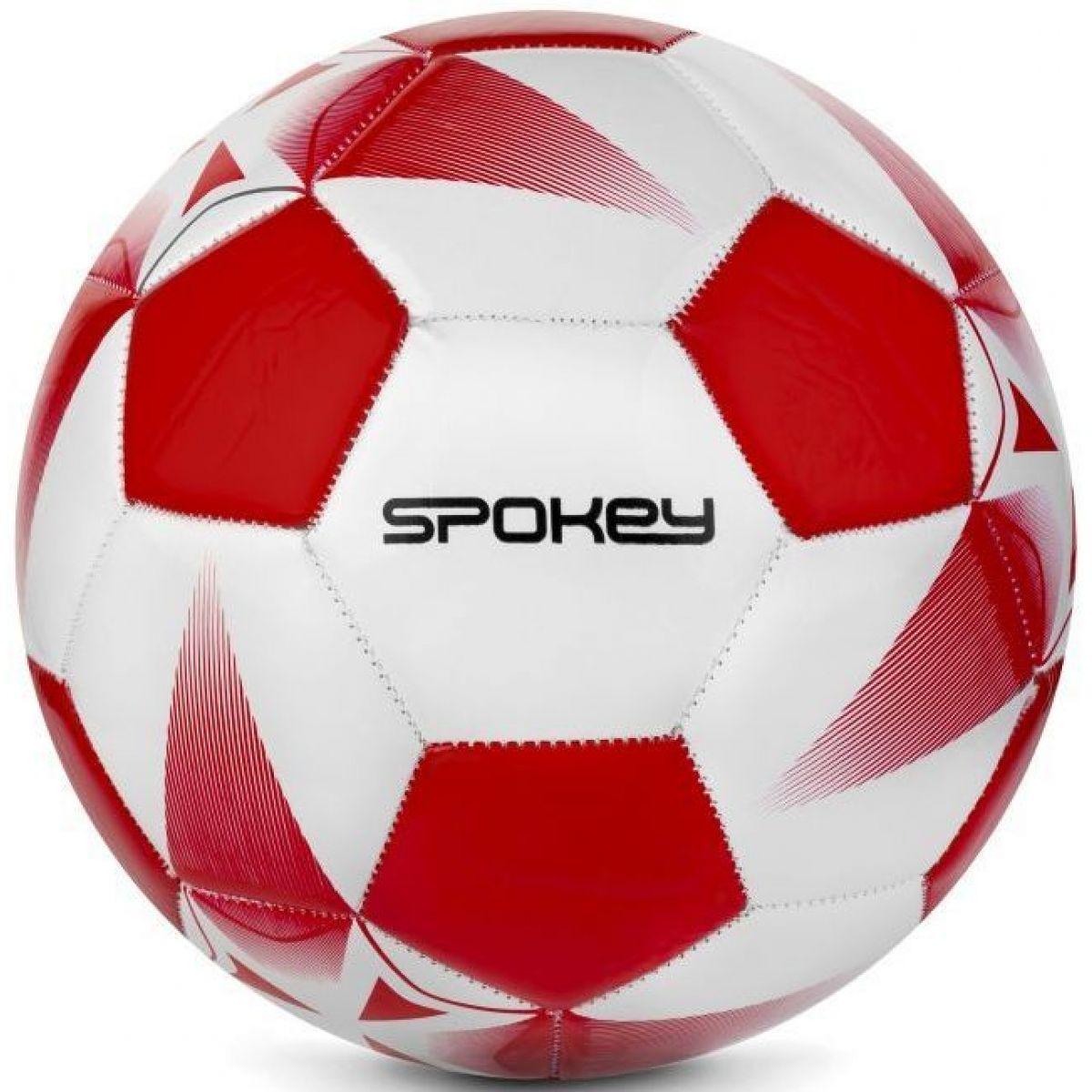 Spokey Fotbalový míč E2018 bíločervený č. 5