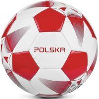 Spokey Fotbalový míč E2018 bíločervený č. 5 2