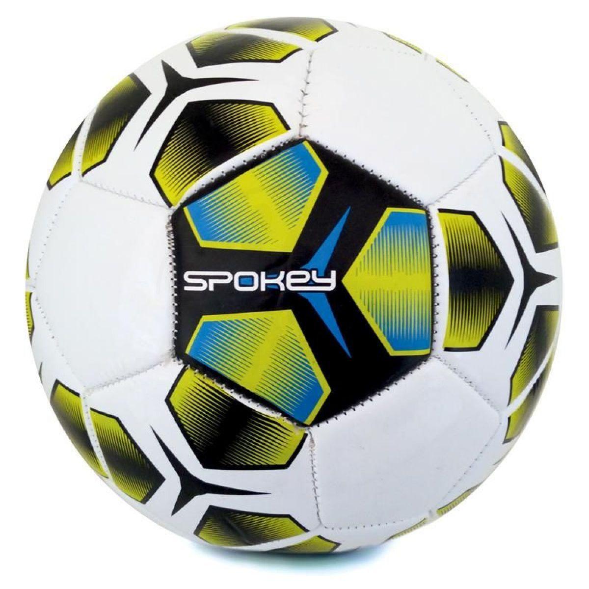 Spokey Haste fotbalový míč velikost 5 modrožlutý