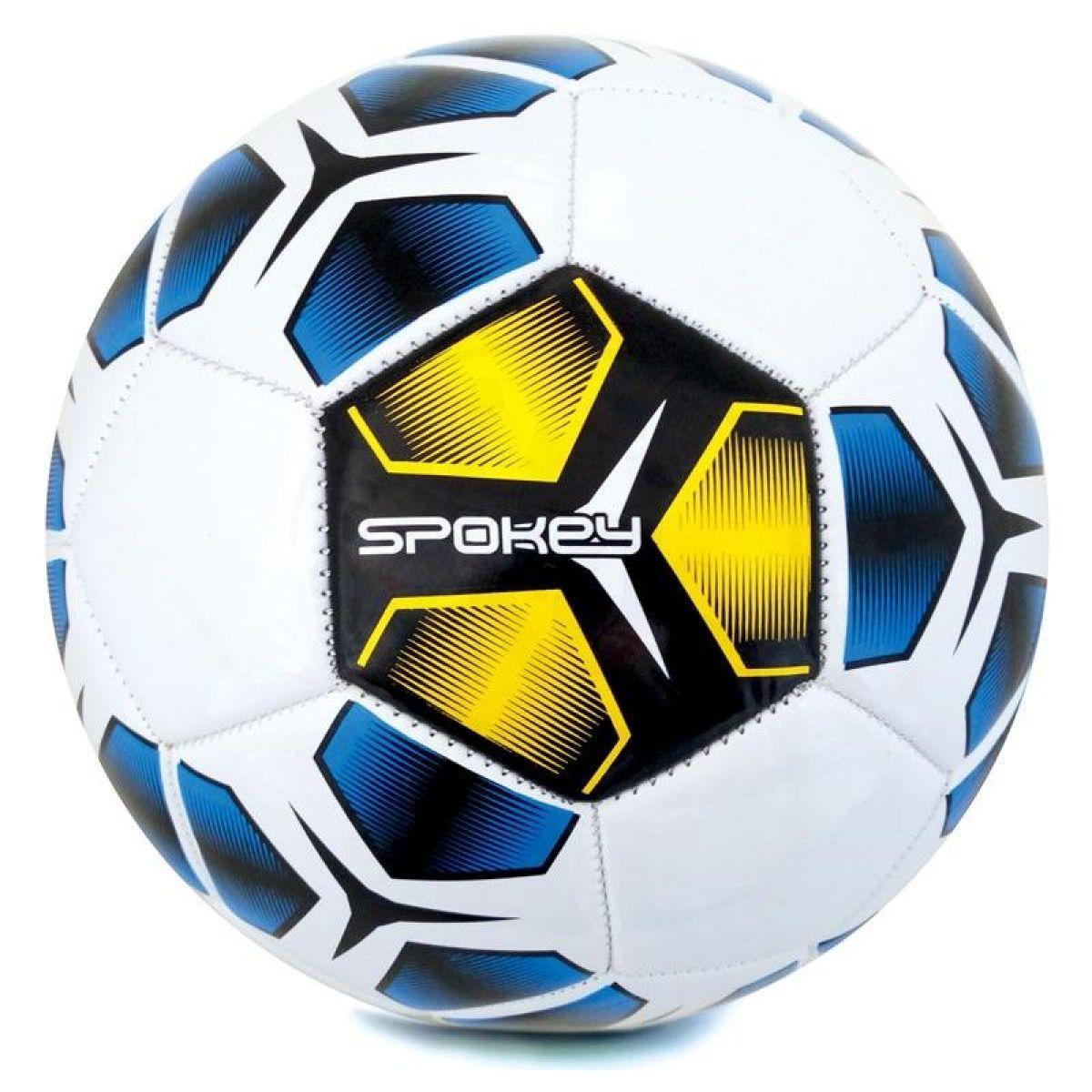 Spokey Haste fotbalový míč velikost 5 žlutomodrý