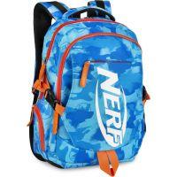 Spokey Nerf Bronco Batoh školní sportovní modrooranžový