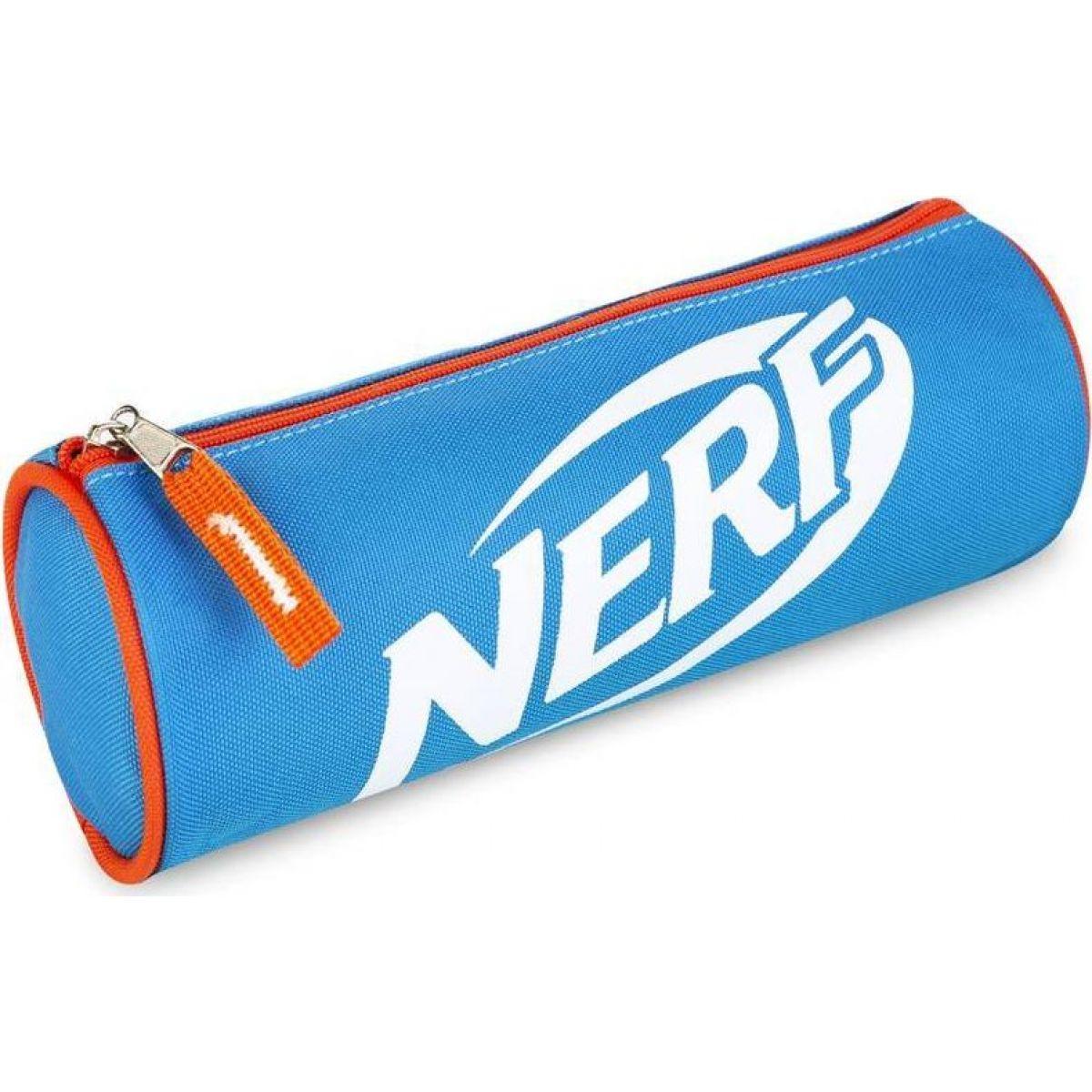 Spokey Nerf Scroll Školské etue modrooranžové