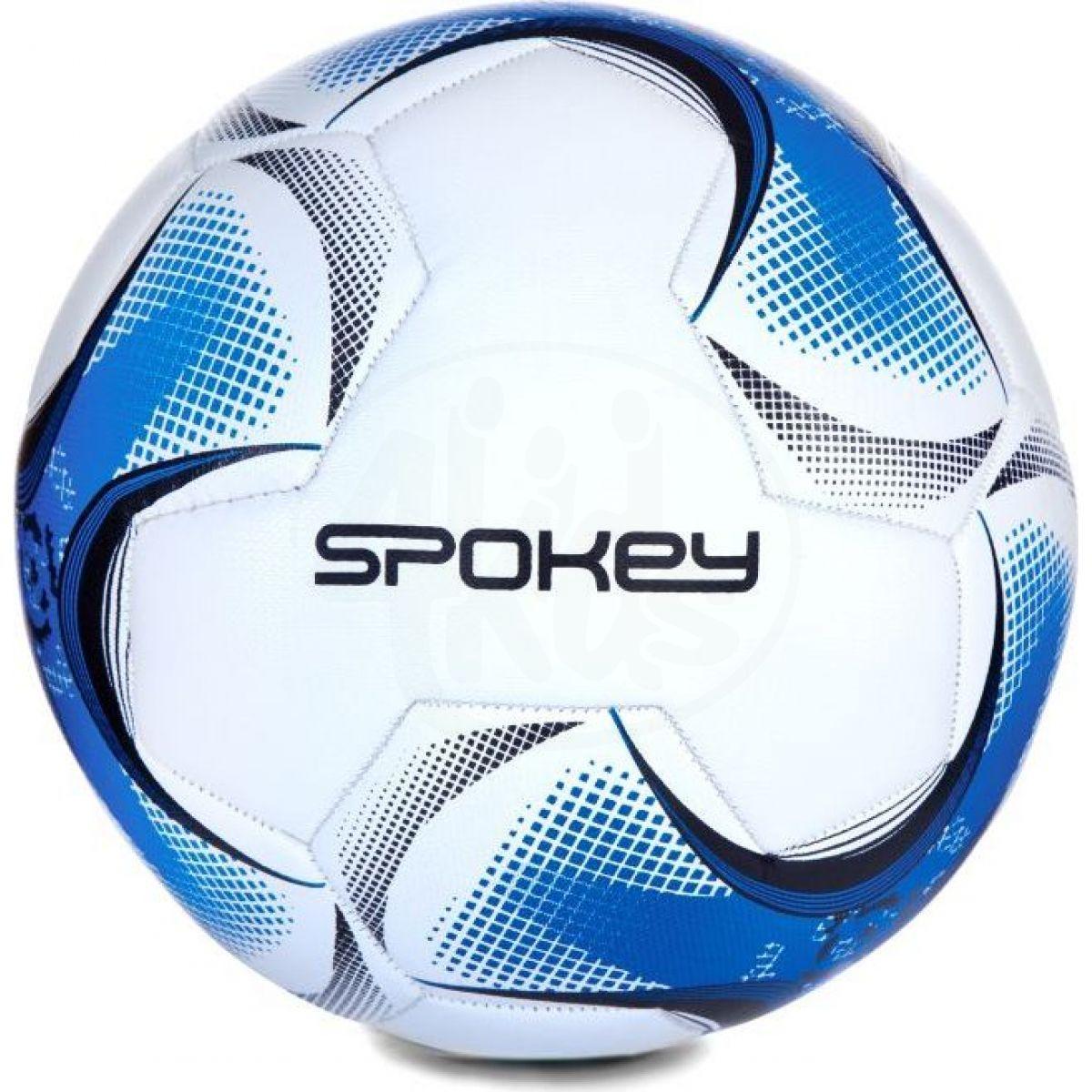 Spokey Razor Fotbalový míč velikosti 5 bíločernomodrý