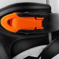 Spokey Tony Kolečkové brusle černo-oranžové ABEC7 Carbon vel. 29-33 6