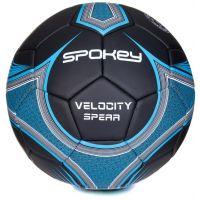 Spokey Velocity Spear Fotbalový míč velikost 5 žlutomodrý