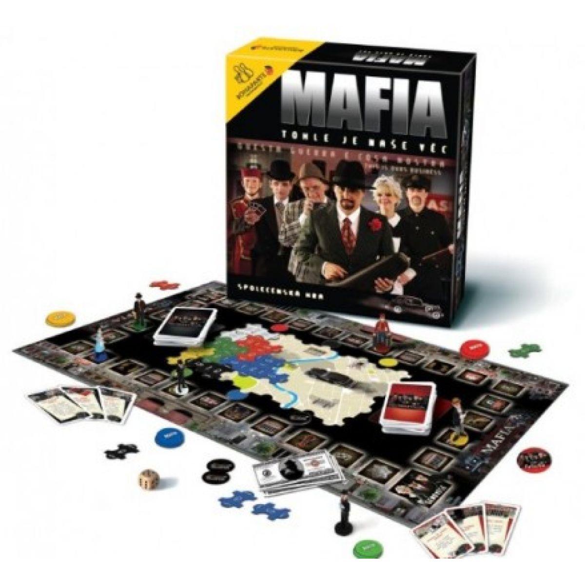 BONAPARTE 00766 - Společenská hra - Mafia