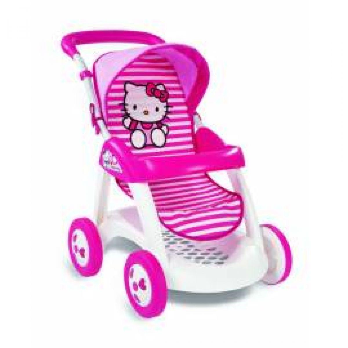 Smoby 510131 - Sportovní kočárek Hello Kitty