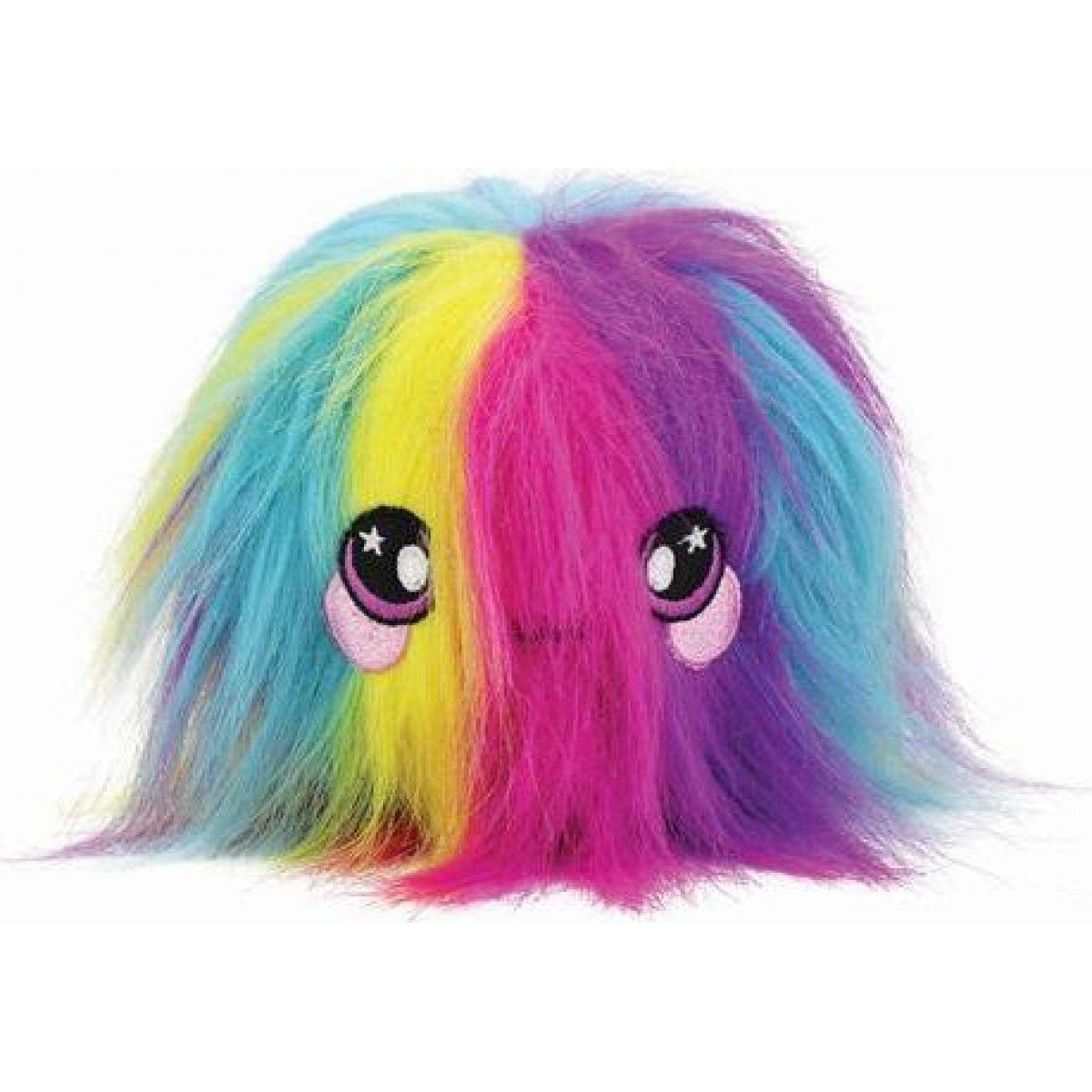 Squeezamals měkké plyšové zvířátko 9 cm Chlupáč barevný