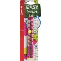 Stabilo EASYgraph HB levák růžová 2 ks