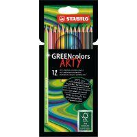 Stabilo Greencolors Pouzdro řada Arty 12 ks