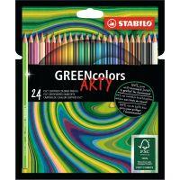 Stabilo Greencolors 24 ks řada Arty