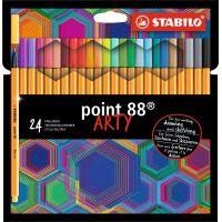 Stabilo point 88 24 ks pouzdro řada Arty
