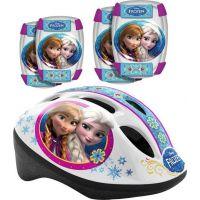 Stamp Frozen Bezpečnostní set helma, kolenní a loketní chrániče