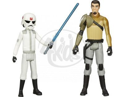 Hasbro Star Wars akční figurky 2ks - Ezra Bridger a Kanan Jarrus