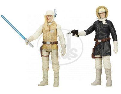Hasbro Star Wars akční figurky 2ks - Luke Skywalker a Han Solo