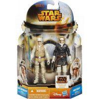 Hasbro Star Wars akční figurky 2ks - Luke Skywalker a Han Solo 2