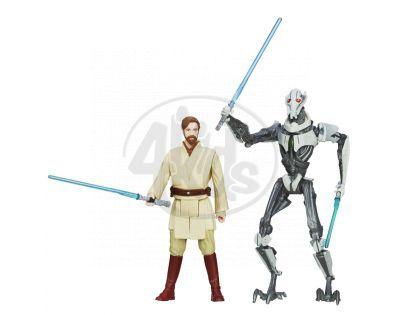 Hasbro Star Wars akční figurky 2ks - Obi-Wan Kenobi a General Grievous