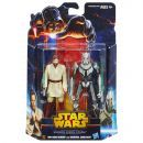Hasbro Star Wars akční figurky 2ks - Obi-Wan Kenobi a General Grievous 2