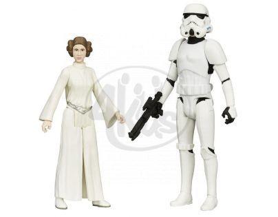 Hasbro Star Wars akční figurky 2ks - Princess Leia a Luke Skywalker