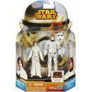 Hasbro Star Wars akční figurky 2ks - Princess Leia a Luke Skywalker 2
