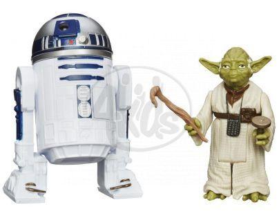 Hasbro Star Wars akční figurky 2ks - R2-D2 a Yoda