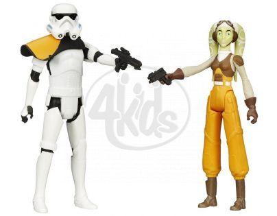 Hasbro Star Wars akční figurky 2ks - Stormtrooper Commander a Hera Syndulla