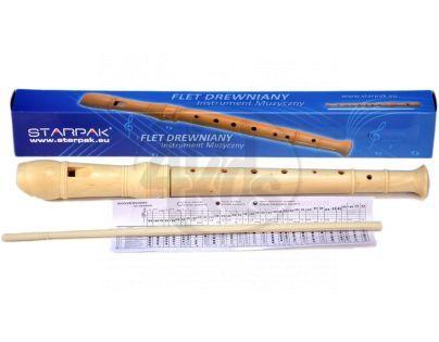 Starpak Flétna dřevěná 31 cm