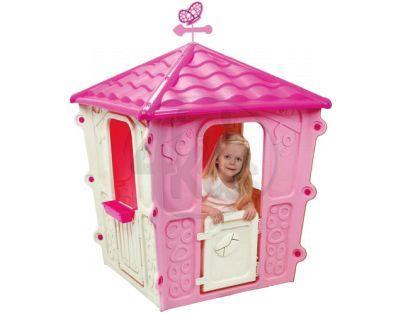 Domeček Square House růžový