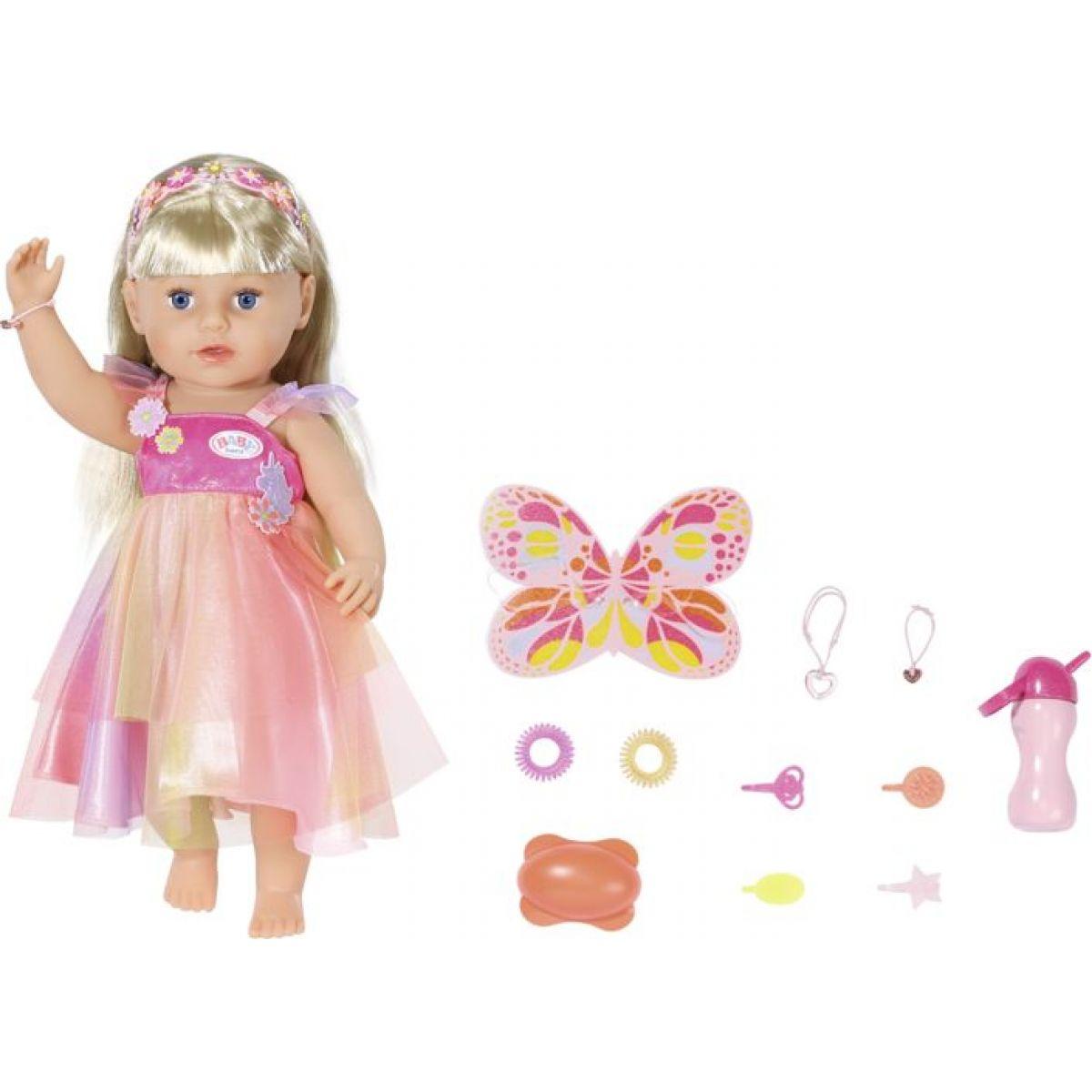 Zapf Creation BABY born Starší sestřička Soft Touch Jednorožec 43 cm