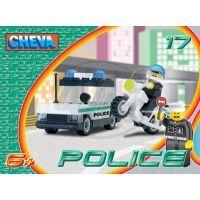 CHEVA 11017 - Stavebnice CHEVA 17 Policejní hlídka