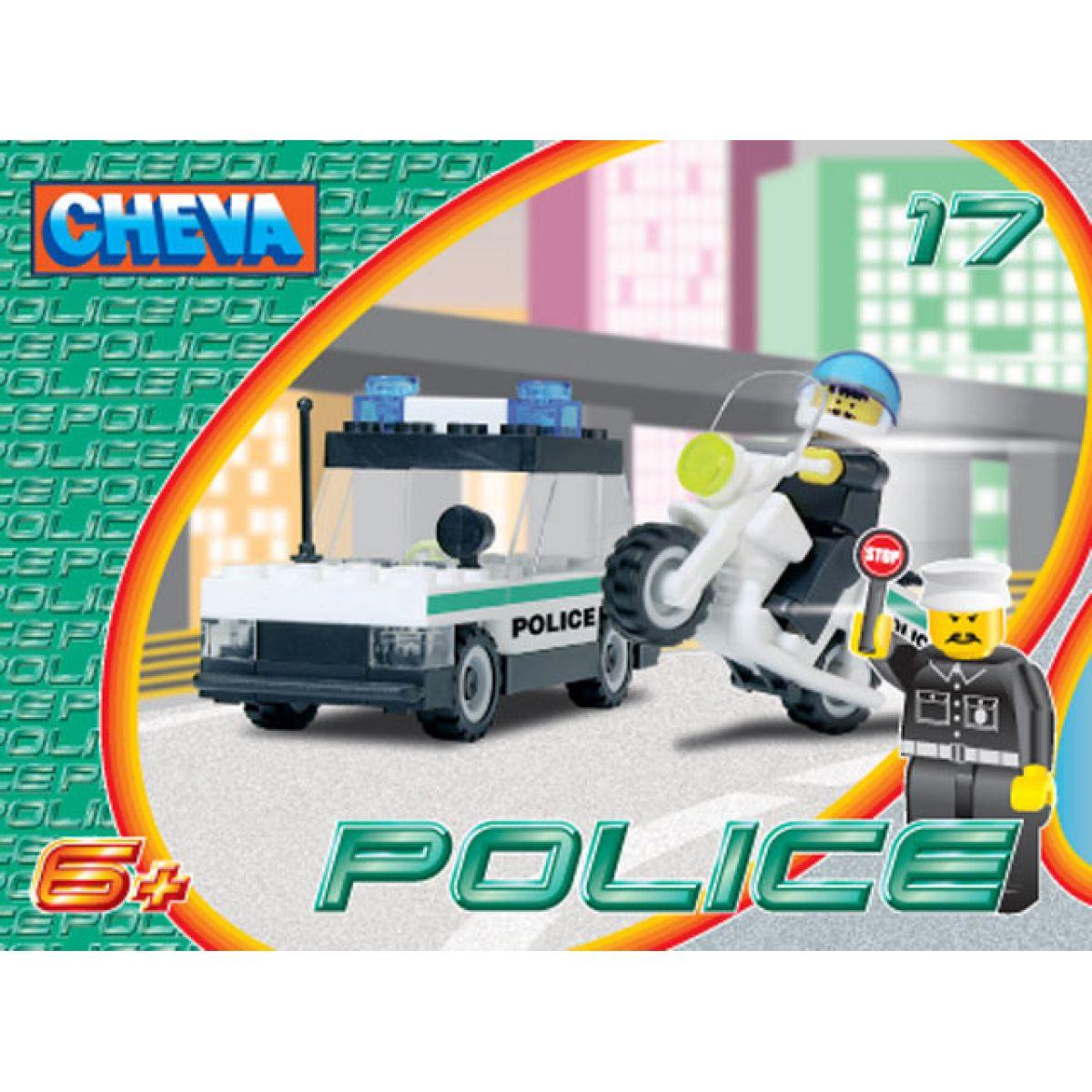 Cheva Stavebnice 17 Policejní hlídka 53 ks