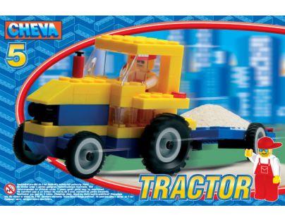 CHEVA 11005 - Stavebnice CHEVA 5 Traktor