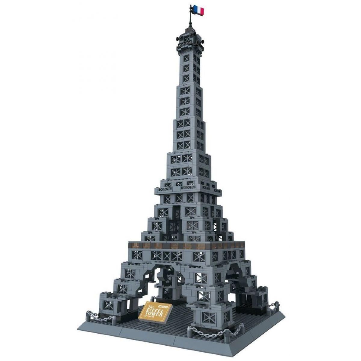 Stavebnice Eiffelova věž 978 dílků (WANGE 8015)