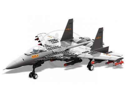 Stavebnice J15 Carrier-Based stíhačka 309 dílků (Dr.Luck JX001)