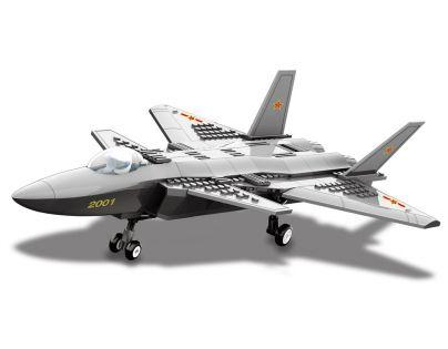 Stavebnice J20 Heavy Stealth Fighter 296 dílků (Dr.Luck JX003)