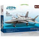Stavebnice J20 Heavy Stealth Fighter 296 dílků (Dr.Luck JX003) 2