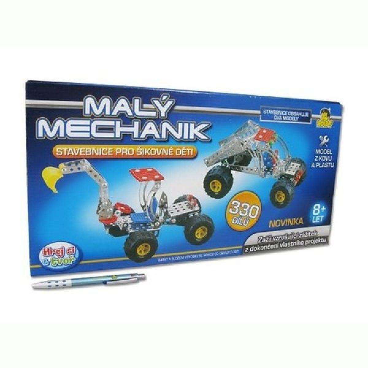 MaDe 61499 - Malý mechanik - 2 vozidla 49 cm
