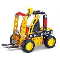 Stavebnice Malý mechanik vysokozdvižný vozík 127 ks