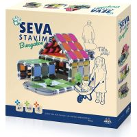 Stavebnice SEVA stavíme Bungalov 548 dílků
