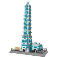 Stavebnice Tchaj-Pej 101 mrakodrap 1511 dílků (WANGE 8019)