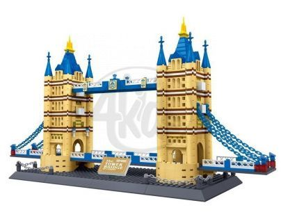 Stavebnice Tower Bridge 1033 dílků (WANGE 8013)